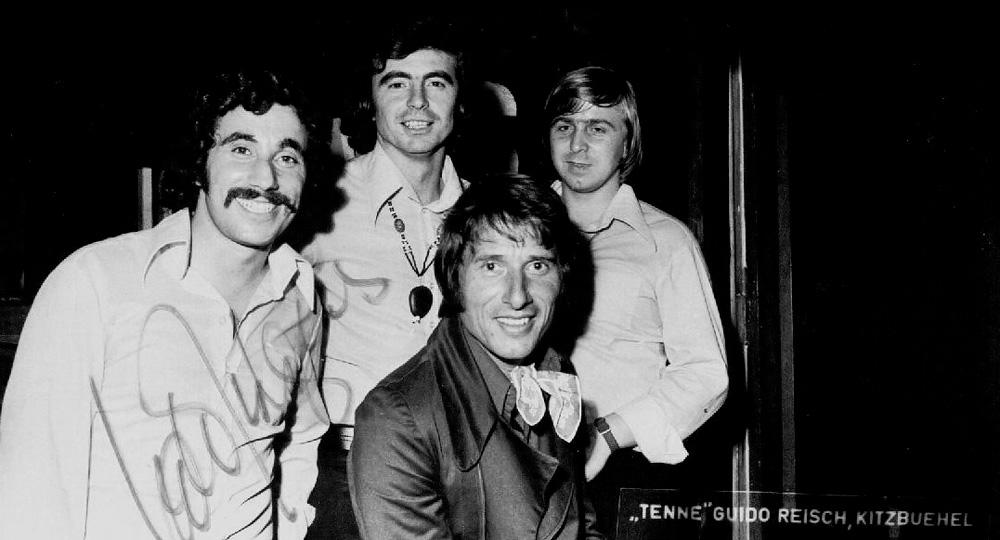 1976 -  Auftritt mit Udo Jürgens in Kitzbühl