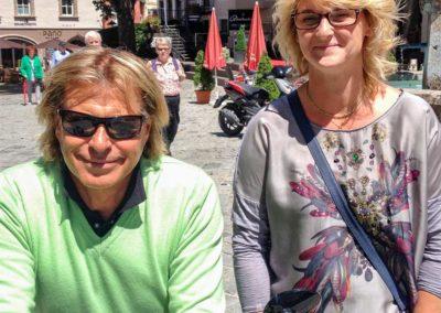 Treffen mit Hansi Hinterseer